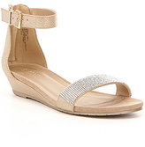 Kenneth Cole Reaction Great Vibe 2 Rhinestone-Embellished Sandals