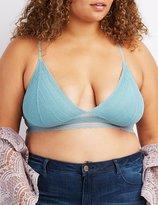 Charlotte Russe Plus Size Lace Longline Bralette