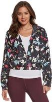 Seafolly Women's Flower Festival Wind Breaker Zip Hoodie Jacket 8151318