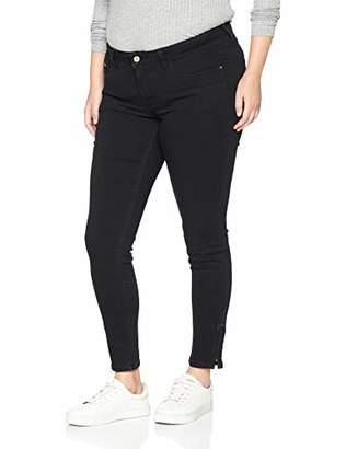 N. ONLY Carmakoma Women's carKARLA REG SK Ankle Zip Jeans Skinny