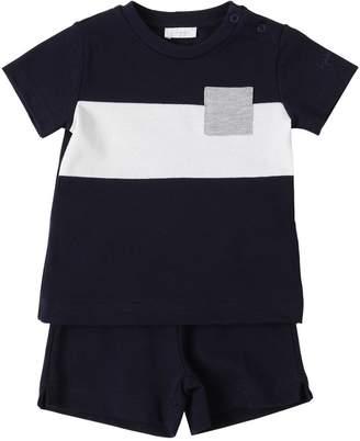 Il Gufo Cotton Piquet T-Shirt & Shorts