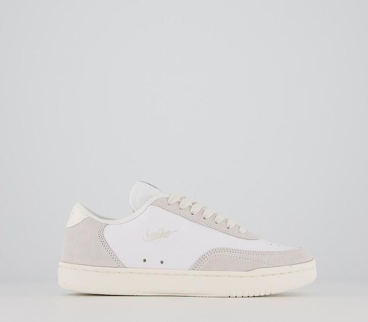 Nike Court Vintage Trainers White Sail Platinum Tint