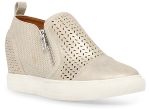Dv Dolce Vita Krissa Perforated Wedge Sneakers Women's Shoes
