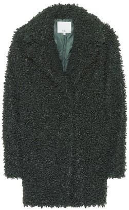 Tibi Faux curly shearling coat