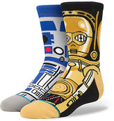 Disney R2-D2 and C-3PO ''Droid'' Socks for Kids by Stance
