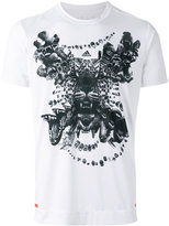 adidas tiger print T-shirt - men - Polyester - S