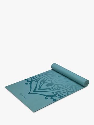 Gaiam Premium Niagara Sunset 6mm Yoga Mat, Blue