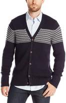 Nautica Men's Mix Stitch Cardigan