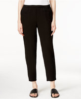 Eileen Fisher Slim-Leg Ankle Pants
