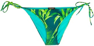 Versace Jungle Print Bikini Bottoms