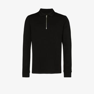 Prévu PREVU Candreva waffle knit polo shirt