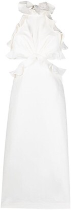 Zimmermann The Lovestruck ruffle detail midi dress