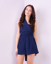 Missy Empire Sevrin Navy Multiway Playsuit