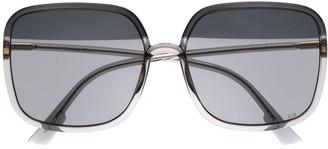 Christian Dior So Stella oversized sunglasses