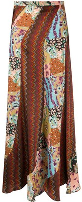 M Missoni Printed Maxi Skirt