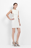 Nicole Miller Side Lace Up Dress