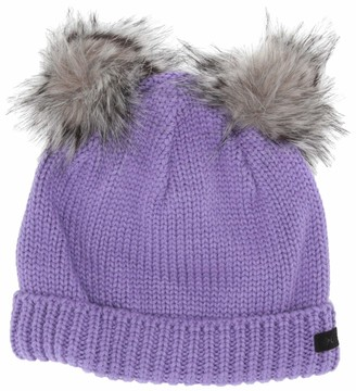 Columbia Girls Snow Problem Beanie Winter Fleece Hat