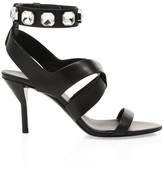3.1 Phillip Lim Kiddie Jewelled Leather Sandals