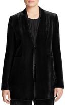 Elie Tahari Antoinette Velvet Jacket