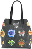 Etro printed tote - women - Leather - One Size