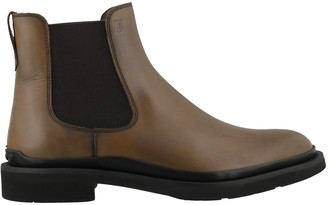Tod's Slip On Ankle Boots