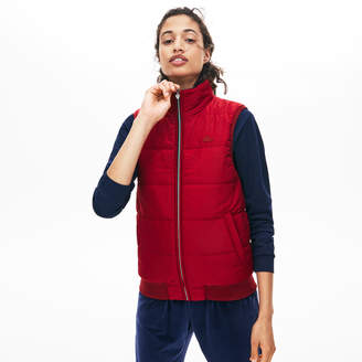 Lacoste Women's Reversible Hooded Vest