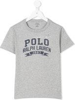 Ralph Lauren logo front t-shirt - kids - Cotton - 6 yrs
