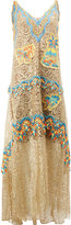 Peter Pilotto Embroidered dress - women - Silk/Polyamide/Polyester - 10