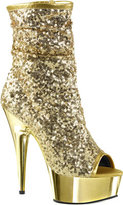 Pleaser USA Women's Delight 1008SQ Ankle Boot