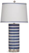 Bassett Mirror Regatta Stripe Table Lamp