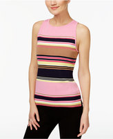 INC International Concepts Petite Striped Halter Sweater, Only at Macy's