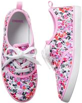 Gymboree Floral Sneakers