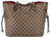 Louis Vuitton Damier Ebene Neverfull MM Bag (Pre Owned)
