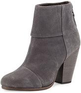 Rag & Bone Classic Newbury Nubuck Ankle Boot, Charcoal