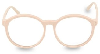 Stella McCartney 54MM Round Blue Light Blocking Reading Glasses
