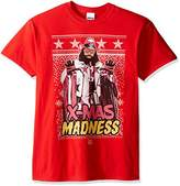 WWE Men's Macho Man X-Mas Madness Ugly Christmas T-Shirt