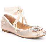 Badgley Mischka Karter II Leather Ballet Flats