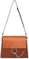 Chloé Brown Medium Faye Bag