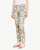 Ann Taylor The Petite Crop Pant in Tropic Print - Devin Fit