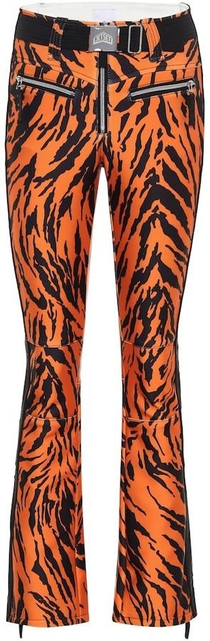 Jet Set Tiby tiger-print ski pants