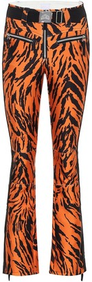 Jet Set Tiby tiger-print ski pants