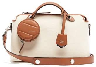 Fendi By The Way Canvas Shoulder Bag - Womens - Cream Multi