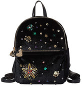 Betsey Johnson Lucky Star Beaded Backpack
