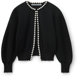 Collection Pearl Placket Cardigan