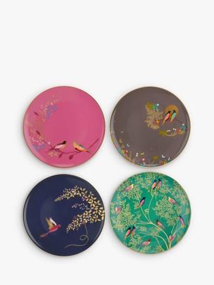 Cake Sara Miller Chelsea Collection Birds Plates, Dia.20cm, Assorted, Set of 4