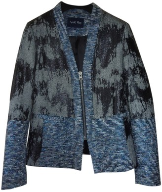 April May Blue Jacket for Women