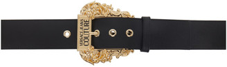 Versace Jeans Couture Black Couture I Belt