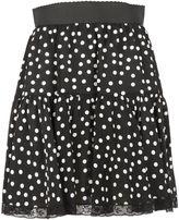 Dolce & Gabbana Polka Dots Mini Skirt