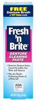 Fresh and Brite Fresh 'N Brite Denture Cleaning Paste