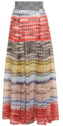 Missoni Crochet-knit Maxi Skirt